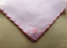 A personal favourite from my Etsy shop https://www.etsy.com/uk/listing/526996065/pretty-pink-sheer-handkerchief-with