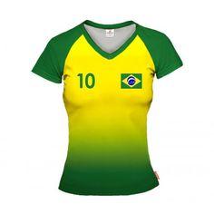 BRAZYLIA 2014/15 Koszulka Siatkarska Damska z Własnym Nadrukiem Volleyball Jerseys, Sportswear, Tops, Templates, Women, Ideas, Fashion, Brazil, Unitards