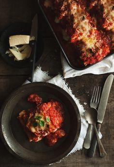 http://westsoy.tumblr.com/ Gluten Free Lasagna with Tofu! Vegan, Healthy, Gluten-Free!