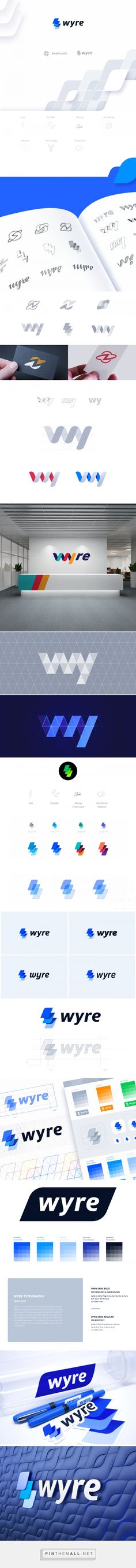 Wyre Branding on Behance - created via https://pinthemall.net
