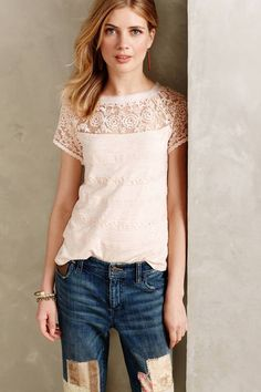 Anthropologie Meadow Rue Gossamer Tee…need I say more?