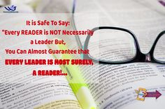Leaders are Readers!... What are YOU Reading, Today? ...  #leadbyexample   #leadersarereaders   #mpoweru
