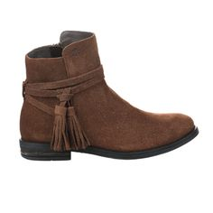 acebo bottines fille marron sarenza
