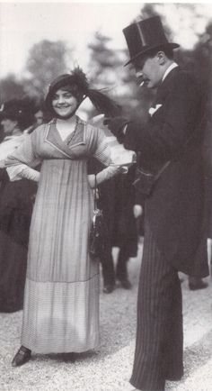 1912 - at the race by Seeberger