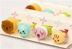 Japanese animal sweets food picks for Bento Lunch Box