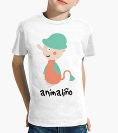 CAMISETA PARA NIÑ@ | ANIMALIÑO  16,39€    ❤ Camiseta infantil con ilustración original.❤     👉 Diseño de camiseta personalizada.    👉 Puedes escribir el nombre de tu peque o cualquier otra cosa que quieras.    ✨ COMPRA AHORA TU CAMISETA ✨    #camisetas #tshirt #kids #shop