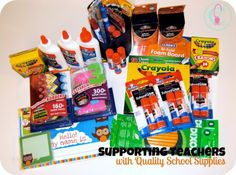 supporting teachers with quality school supplies #BagItForward