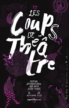 Coups de théâtre 2012 by La Mamzelle & Co. , via Behance