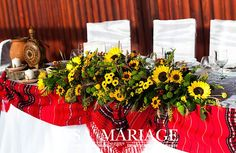 Romanian Wedding, Traditional, Table Decorations, Weeding, Wedding Dresses, Wedding Ideas, Candy, Bar, Home Decor