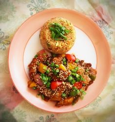 Sesame Chicken cooked in Indian Style Indo Chinese Recipes, Chinese Food, My Favorite Food, Favorite Recipes, Sesame Chicken, My Recipes, Desi, Indian Style, Asian