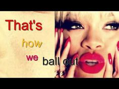 Rihanna - Pour It Up (Lyrics On Screen)