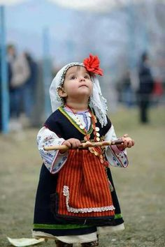 An adorable little Bulgarian girl. (V)