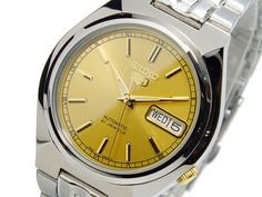 Seiko-5-Automatic-Mens-Watch-See-Through-Back-SNK303K1-UK-Seller