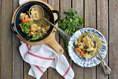 Caril rápido de frango | Quick chicken curry