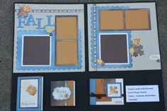 "Classic Christina: ""Fall""ing in love with the Cricut Cartridge--Dreamin' layout from my team meeting project pack"