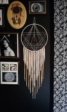 Geometry Dream Catcher by Aurvgon on Etsy