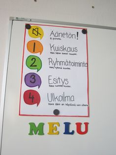 Varga-Neményi-menetelmään, toiminnallisuuteen ja Liikkuva Koulu-ideologiaan hurahtaneen opettajan opetuskokeiluja. Classroom Rules, Classroom Behavior, School Classroom, Classroom Management, Teaching Aids, Teaching Kindergarten, Beginning Of School, Pre School, Childhood Education