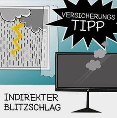 Nach längerer Hitze entladen sich oft Gewitter über Österreich. Der größte Feind deiner elektronischen Geräte (neben Wasser): der indirekte Blitzschlag. Schlägt ein Blitz in der Nähe deines Zuhauses ein, kann die Spannung über Strom- und Telefonleitungen ins Haus geleitet werden. Dies kann mit einem Schlag viele deiner Geräte vernichten. Prüfe, ob auch der indirekte Blitzschlag in deiner Haushaltsversicherung mitversichert ist. Mehr Versicherungstipps: www.versicherungsblog.lamie-direkt.at