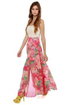 Essential flowy pretty spring skirt