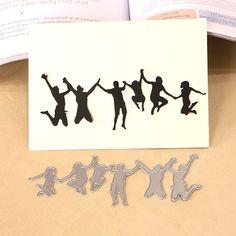 Vivid dos tarjetas de Metal Ratón corte muere Stencils Álbum de Fotos Decorativo 、 Nuevo