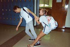 highschool romance.. pretty much.