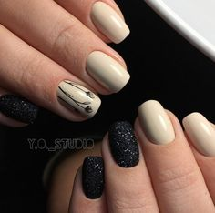 44 best & trendy ideas nail design for the winter Nail Art Cute, Great Nails, Fabulous Nails, Perfect Nails, Cute Nails, Fancy Nails, Diy Nails, Girls Nails, Flower Nails