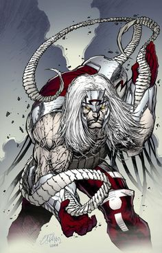 Omega Red by Shelby Robertson