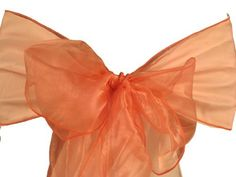 Coral Organza Sashes Chair Bows (Pack of 25) Made in USA by LA Linen, http://www.amazon.com/dp/B005YS4BL2/ref=cm_sw_r_pi_dp_nulWrb0E9JJN5