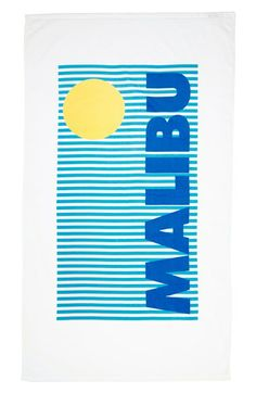 $40 Sisters of Los Angeles Beach Towel available at #Nordstrom