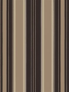 Gold and Brown Tim Stripe Wallpaper