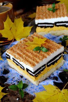 Ciasto dyniowe z oreo i śmietanką Tiramisu, Oreo, Bakery, Cheesecake, Favorite Recipes, Cook, Ethnic Recipes, Cheesecakes, Tiramisu Cake