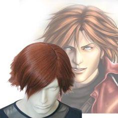 Final Fantasy VII 7 Cosplay Genesis Rhapsodos Cosplay Wig