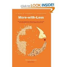 """""""More with Less"""" cookbook"""