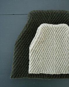 Herringbone Hat from Purl Soho