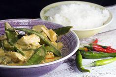 Thaicurry mit Erdnussbutter und Zuckerschoten - Gaumenfreundin - Foodblog mit gesunden Rezepten