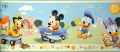 Disney Home Collection 2565-1 Faixa Border :: Decore com Papel - Papéis de Parede
