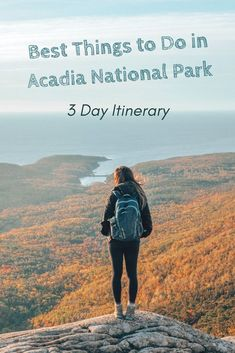 Best Things to Do in Acadia National Park - 3 Day Itinerary Camping acadia national park camping Maine Road Trip, Camping In Maine, East Coast Road Trip, Most Visited National Parks, Us National Parks, Acadia National Park Camping, Acadia Camping, Places To Travel, Places To See