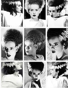The Bride of Frankenstein, i cant wait to be her for Halloween!!!!