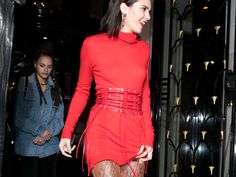 Kendall Jenner's Boots Are Straight Out Of The Devil Wears Prada