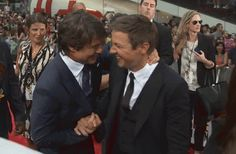 Mission: Impossible Rogue Nation New York Premiere Red Carpet - Jeremy Renner , Tom Cruise.