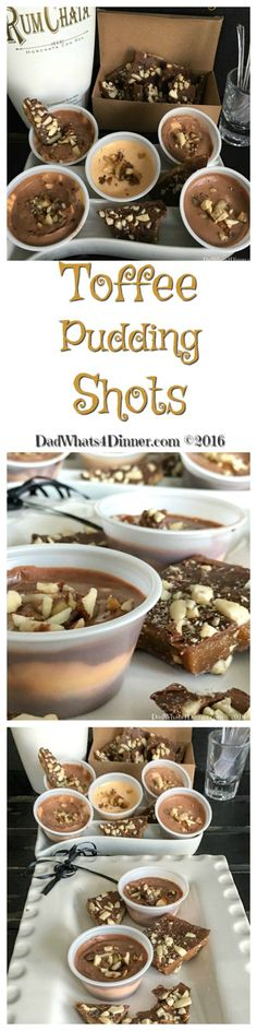 Toffee Pudding Shots