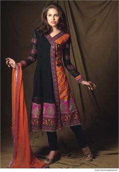 Narrow Shoulder Salwar Suit Neck Designs