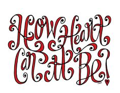 Lettering By Carolyn Sewell