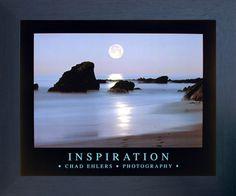 Ocean Full Moon Laguna Beach Inspirational Scenery Landscape Espresso
