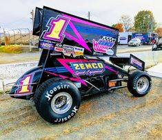 Sprint Car Racing, Dirt Track Racing, Auto Racing, Car Colors, Motor Sport, Race Cars, Automobile, Monster Trucks, Motorcycles