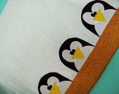 Pano de prato - pinguins