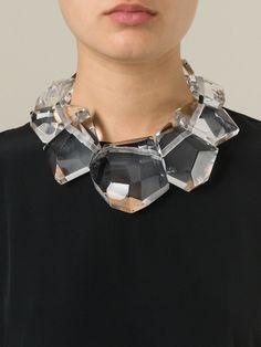Monies Large Resin Stone Necklace - Bernardelli - Farfetch.com