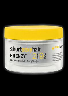 The best for short styles that are messed and need texture and hold