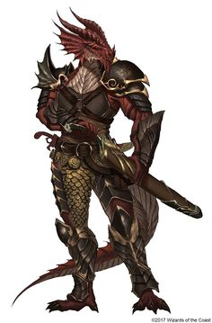 Drakonos   Hombres dragon con capacidades similares a la de un dragon estos varían en su color habilidades y físico  Peligro 7-9