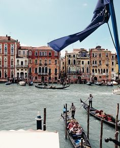 The canals of #Venice are always a romantic way to #travel.